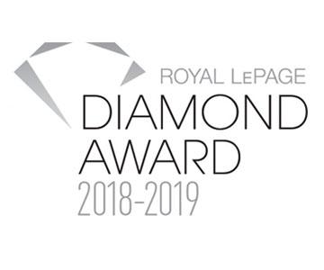 Royal LePage Diamond Award Winner 2018-2019